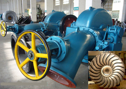 Inclined Type water turbine